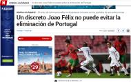 Revista de imprensa à derrota de Portugal