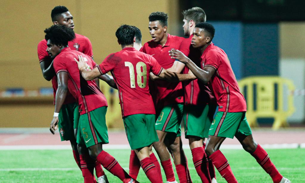 Sub-21, qualificação: Portugal-Chipre (Luís Forra/LUSA)