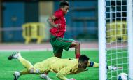 Sub-21, qualificação: Portugal-Chipre. O golo de Gedson, para o 1-1 no marcador (Luís Forra/LUSA)