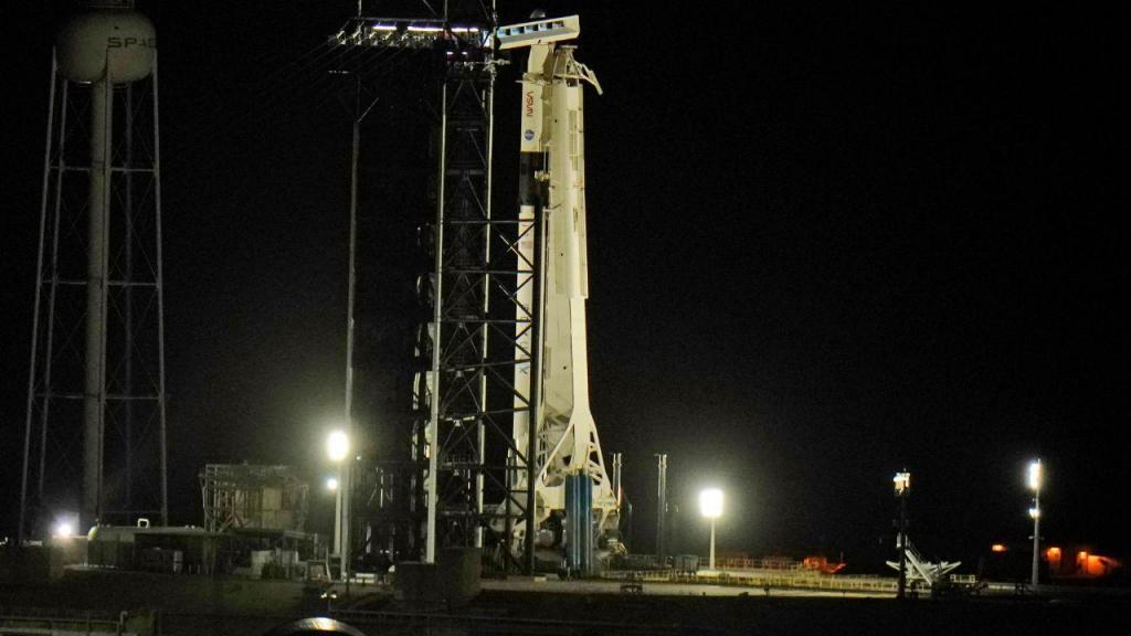 Lançamento do foguetão Falcon 9