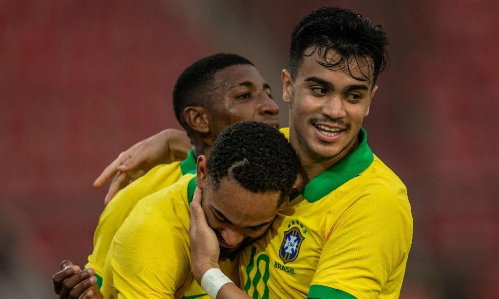 Seleção olímpica do Brasil perdeu no Egito