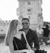 Antonio Adán e Ana Mamore