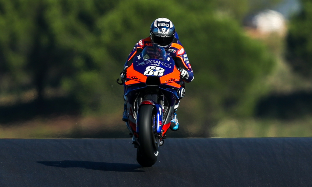 Miguel Oliveira nos treinos livres do GP de Portugal em MotoGP (José Sena Goulão/Lusa)