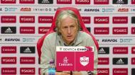 Benfica: Jesus fala de Lucas Veríssimo e da saída de Tiago Pinto