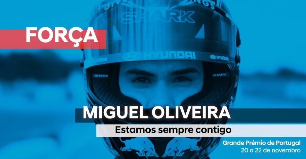 Campanha de apoio da Hyundai a Miguel Oliveira