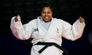 Rochele Nunes de bronze nos Europeus de judo (Martin Divisek/EPA)