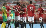 Penálti de Bruno Fernandes decidiu Manchester United-West Bromwich (AP)