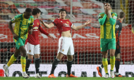 Maguire no Manchester United-West Bromwich (AP)