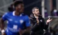 Taça: Paredes-Benfica. Eurico Couto, treinador do Paredes (Lusa)