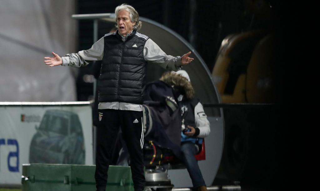 Taça: Paredes-Benfica. Jorge Jesus (Lusa)