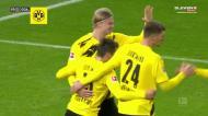 Foi assim que Raphael Guerreiro marcou na vitória do B. Dortmund