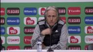 «O Gil(berto) fez o melhor jogo no Benfica»