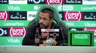 Sporting: Emanuel Ferro explica lesão de Pote