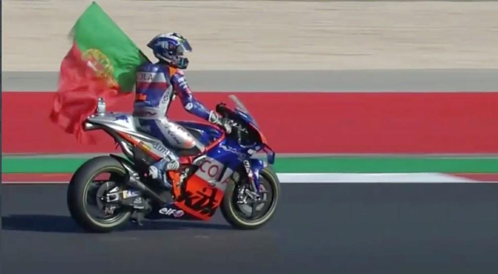 Miguel Oliveira (Rreprodução Youtube MotoGP)