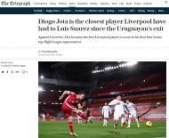Jornais ingleses rendidos a Diogo Jota