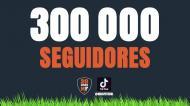 Maisfutebol chegou aos 300 mil seguidores no Tik Tok