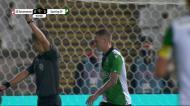 Golo do Sporting é anulado a Nuno Santos e Coates leva as mãos à cabeça