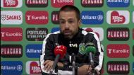 «Pedro Marques está a fazer o percurso dele e tem feito golos na equipa B»