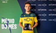 Pedro Gonçalves recebeu prémios da Liga