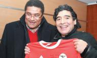Maradona e Eusébio