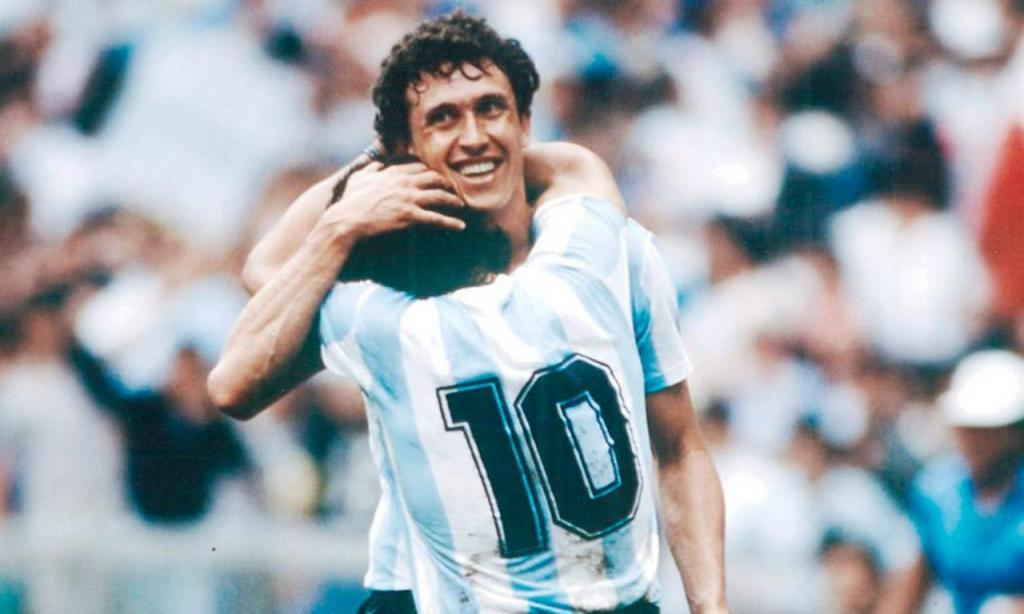 Maradona e Valdano
