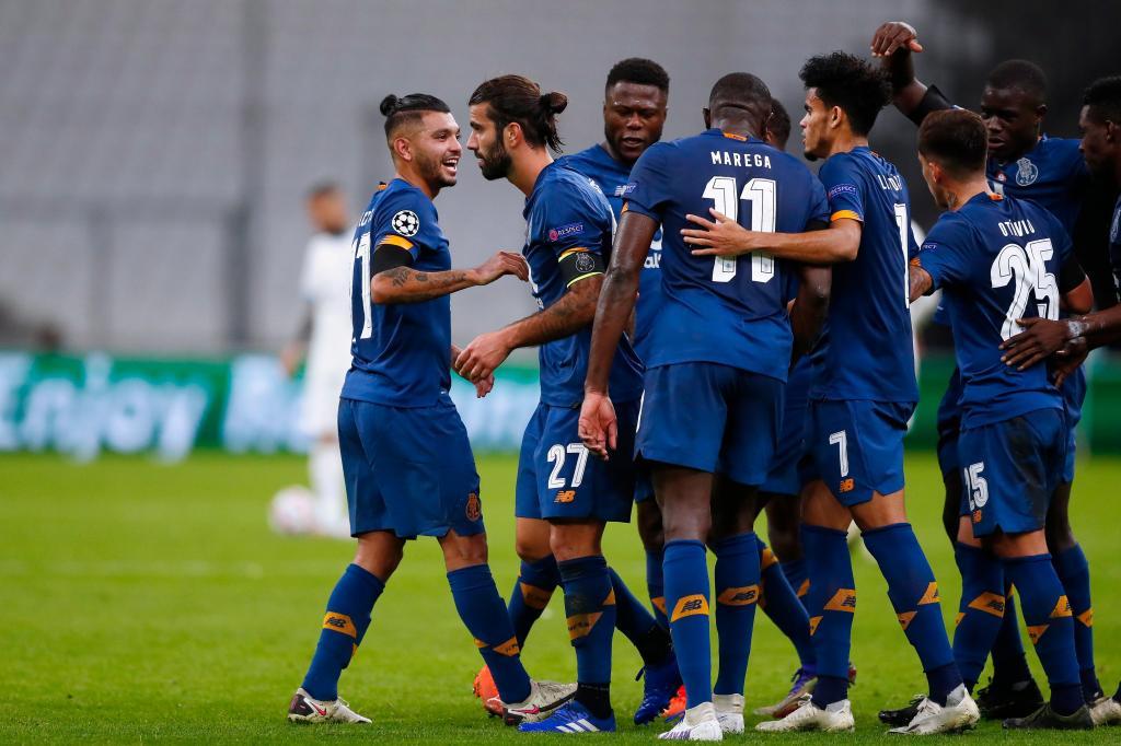 Marselha-FC Porto