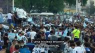 Maradona: Nápoles chorou, Buenos Aires saiu à rua