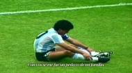 Arrepiante homenagem da Federação Argentina a Maradona