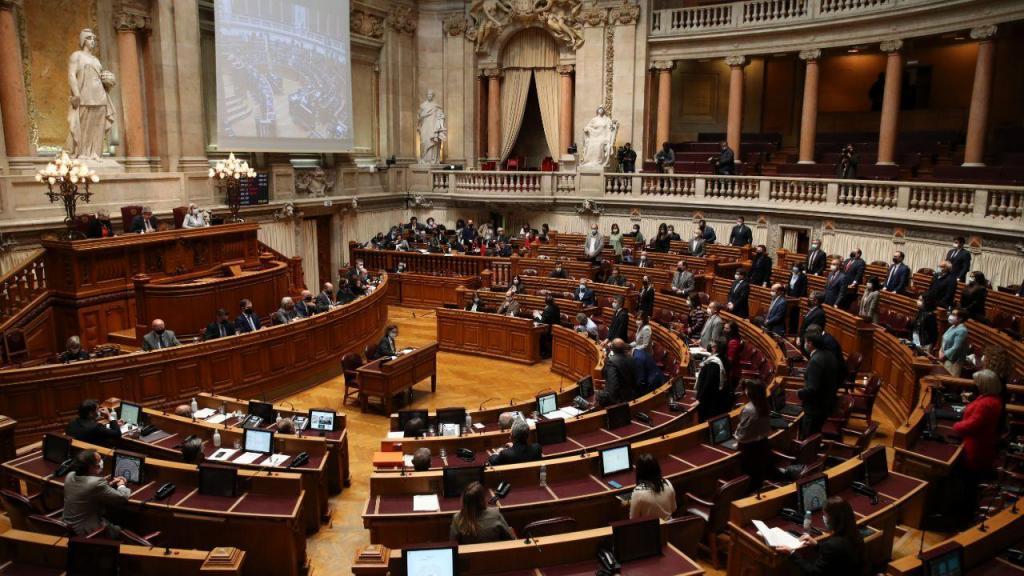 Sessão plenária para a votação do Orçamento do Estado 2021