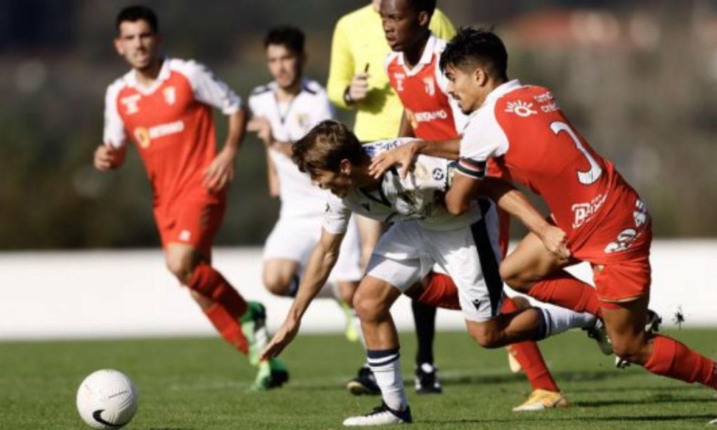 Sp. Braga empatou em Famalicão para a Liga Revelação