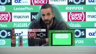 Amorim: «Não foi o treinador que veio para aqui e mudou tudo»