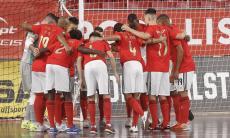 Futsal: Benfica pressiona Sporting com vitória sobre a Quinta dos Lombos