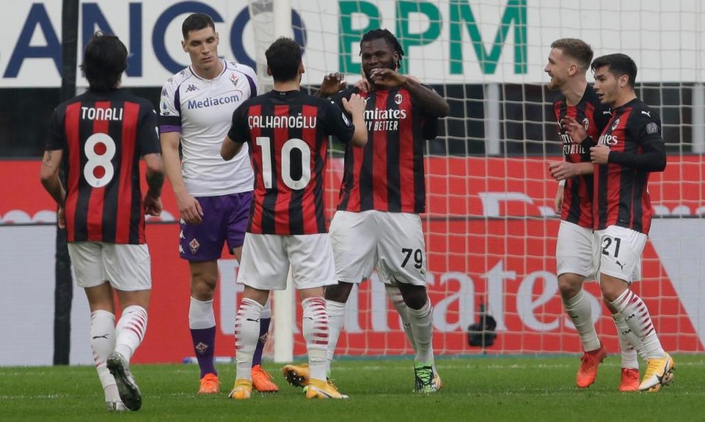 Milan-Fiorentina (AP Photo/Luca Bruno)