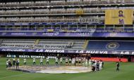 Momentos do futebol internacional 2020: La Bombonera também não esqueceu Maradona