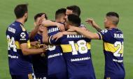 Maradona homenageado durante o Boca Juniors-Newell's Old Boys (AP)