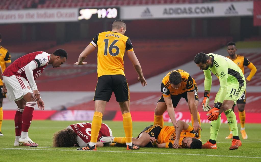 Arsenal-Wolverhampton (EPA/John Walton)