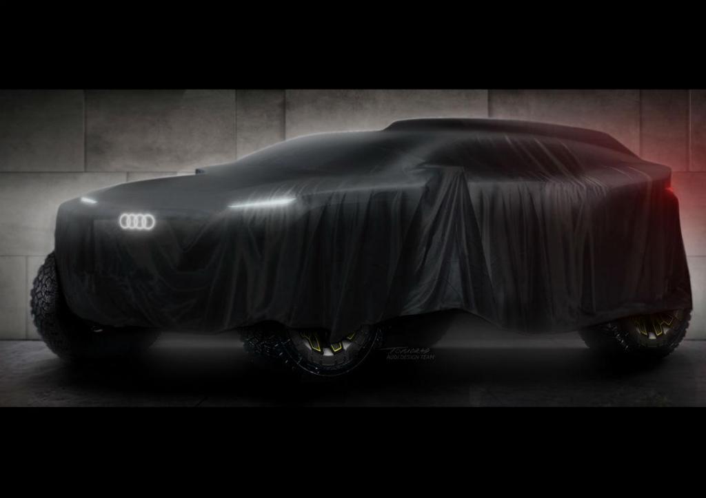 Protótipo elétrico Audi para o Dakar 2022