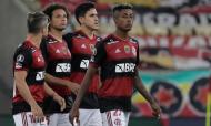 Libertadores: Flamengo-Racing (AP)