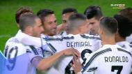 Chiesa dá vantagem à Juventus com ajuda do guardião adversário