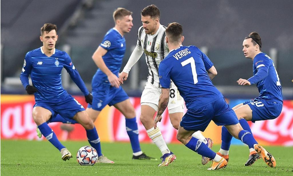 Juventus-D. Kiev (EPA)