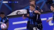 Lang faz o 3-0 para o Club Brugge na receção ao Zenit