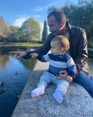 Frederico Varandas e o filho