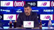 Conceição: «Quando a atitude dos jogadores não está no máximo...»