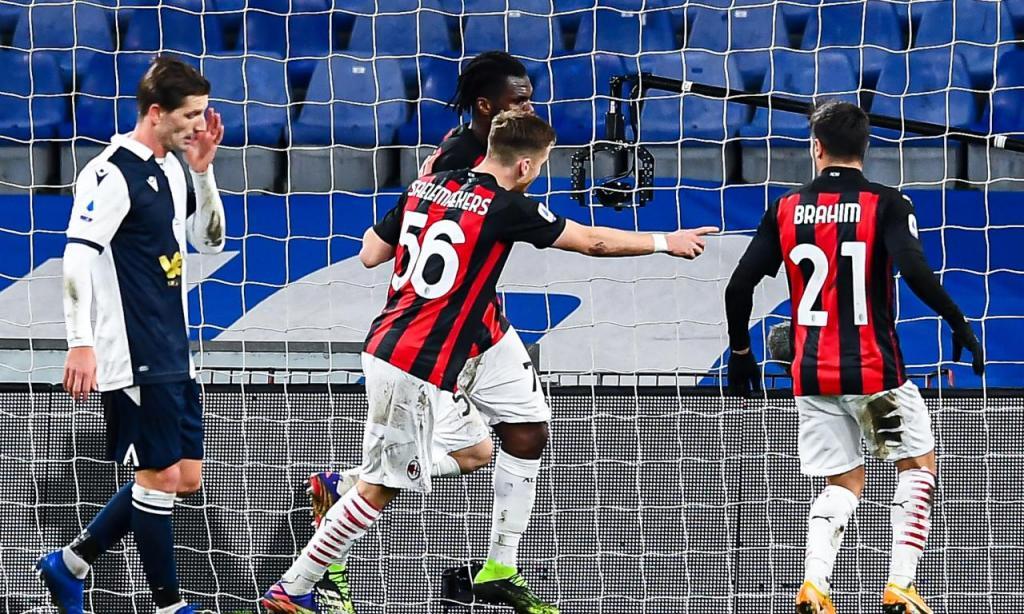 Sampdoria-Milan (Lusa)