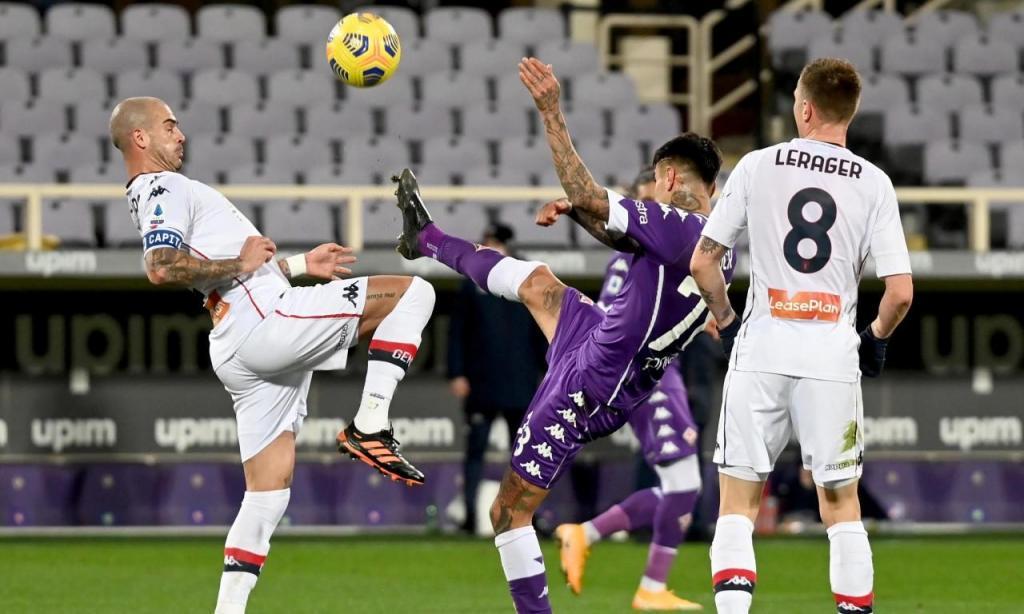 Fiorentina-Genova (Claudio Giovannini/EPA)