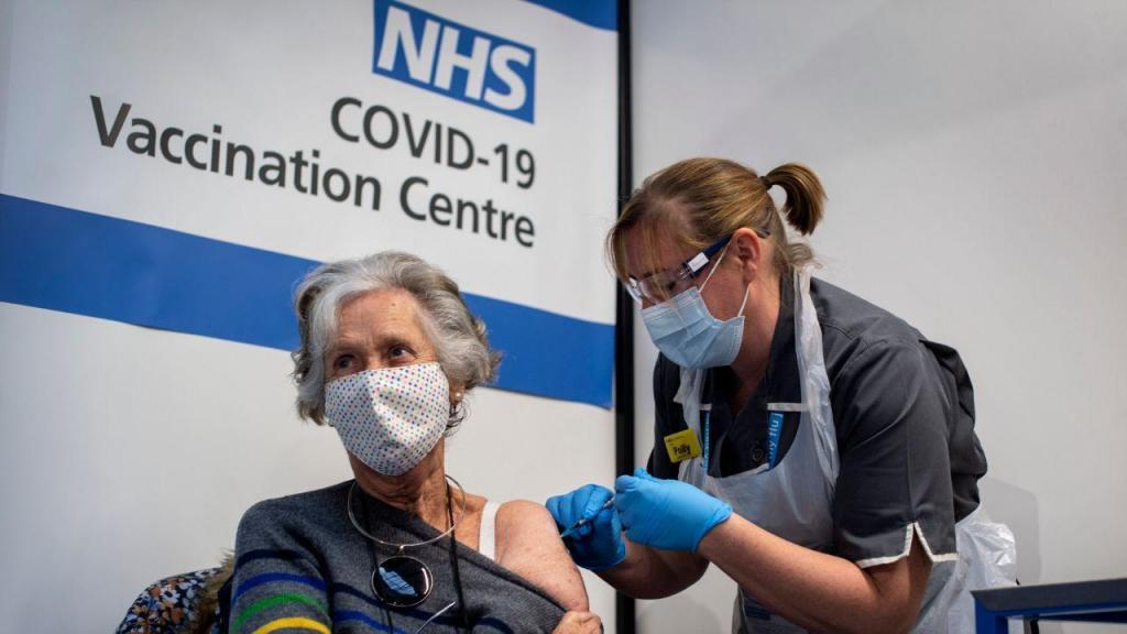 Vacinação no Reino Unido