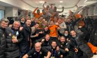 Shakhtar Donetsk fez a festa no balneário após sair da Champions, mas garantir Liga Europa (Shakhtar Donetsk)