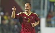 Mikel Villanueva leva 27 internacionalizações e dois golos pela Venezuela, ambos contra o Peru, o último em 2017 (Fernando Llano/AP)