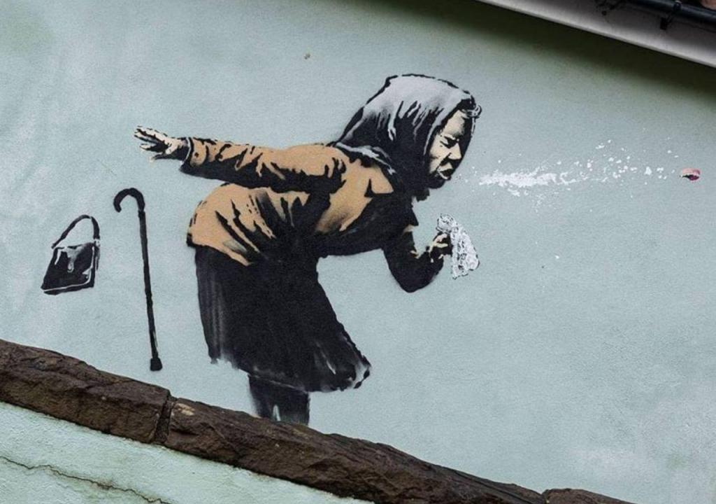 Banksy revela autoria de nova obra