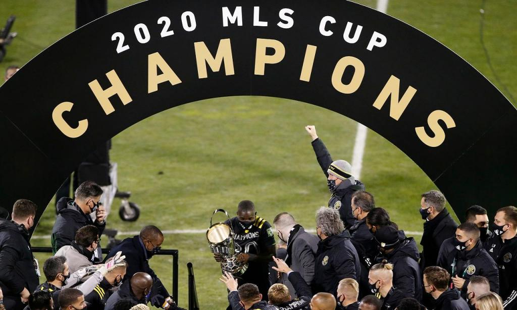Columbus Crew campeão da MLS (AP Photo/Jay LaPrete)